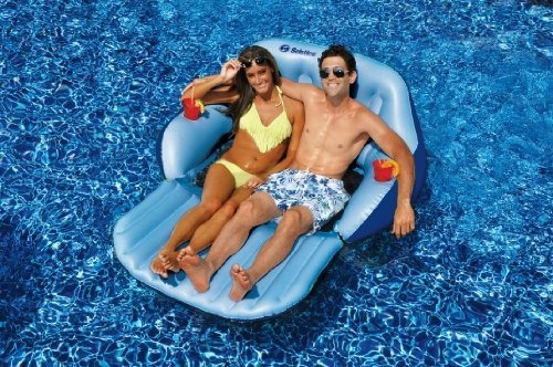 swimline duo love seat pool float