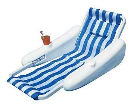 swimline sunchaser sling style lounge pool float - 10000m