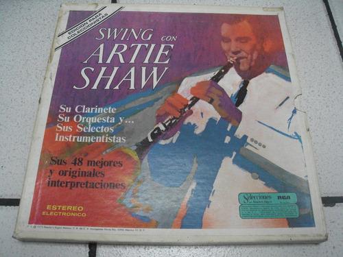 swing con antie shaw lp recopilacion sus 48 mejores