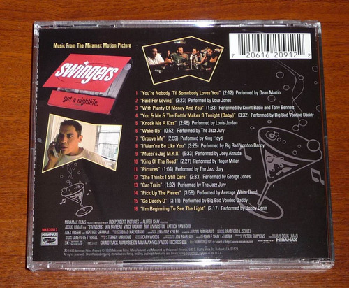 swingers: soundtrack banda sonora | cd