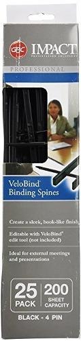 swingline gbc velobind - accesorio para encuadernado (black)