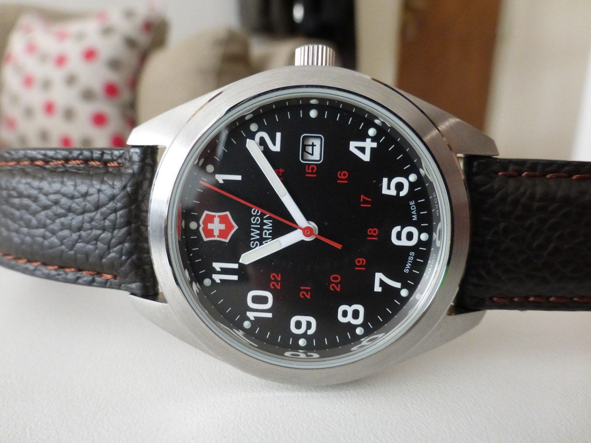 Cargando zoom... reloj victorinox swiss army - garrison - 241083 - en caja ! ef1f9672a31f