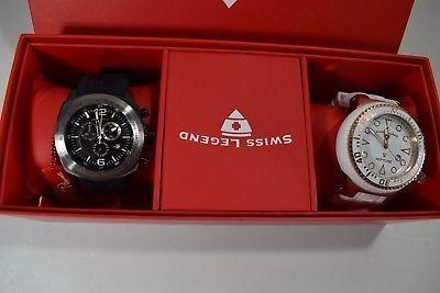 66143d590646 Swiss Legend Set De Reloj Para Hombre Sprinter Cronógrafo ...