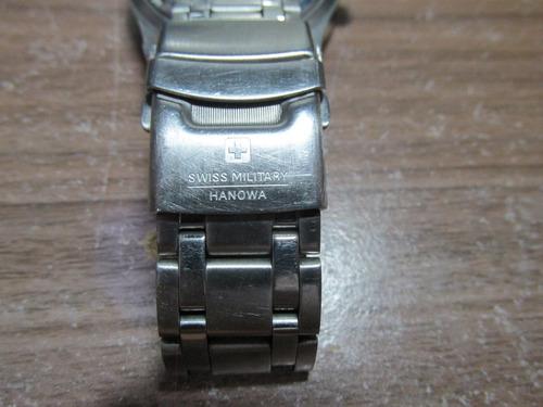swiss military hanowa 6-4192 raro fundo vermelho