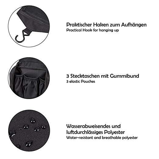 7ac9745b2 Swissona Neceser Premium, Impermeable Y Colgante, Ideal - $ 2.071,00 ...