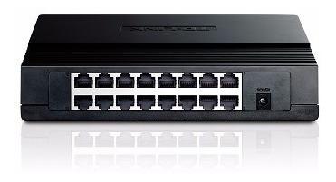 switch 16 bocas tp-link sf1016d 16 puertos 10/100mbps sf1016