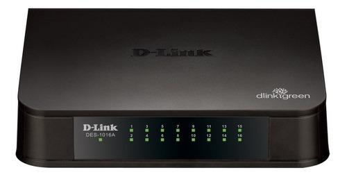 switch 16 puertos d-link 10/100 3.2gbps tienda oficial