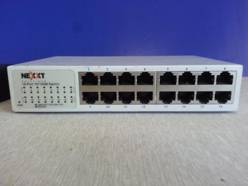 switch 16 puertos marca nexxt