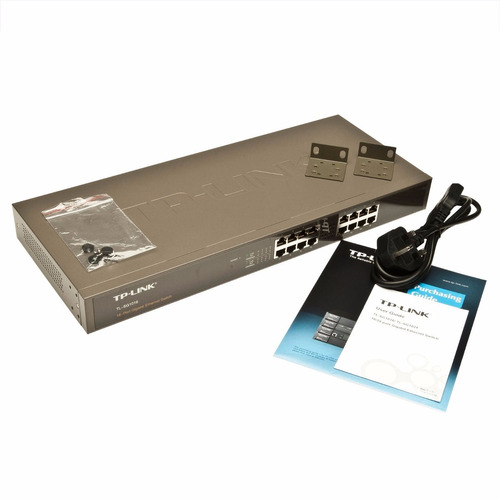 switch 16 puertos no administrable tp-link tl-sg1016
