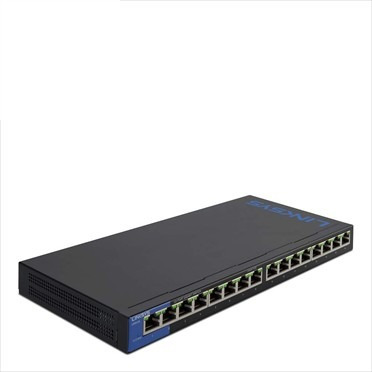 switch 16 puertos poe+ gigabit  lgs116p