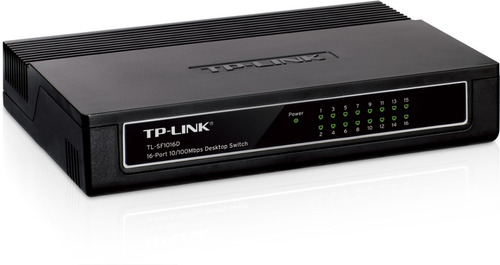 switch 16 puertos tp-link tl-sf1016d 10/100mbps