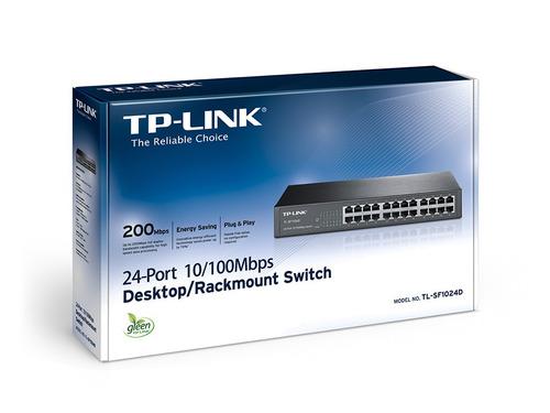 switch 24 ptos 10/100mb tl-sf1024d tp-link por mayor y menor