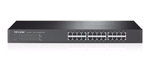 switch 24 puertos 10/100 envio gratis tp-link 19 para rack