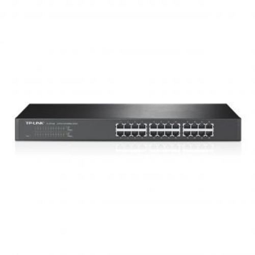 switch 24 puertos 10/100 tp-link tl-sf1024 - negro