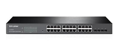 switch 24 tplink tl sg2424 1000 mbps gigabit 4 sfp 2424