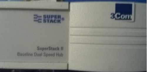 switch 3com ps hub 40 superstack ii 24 puertos 10/100mbs