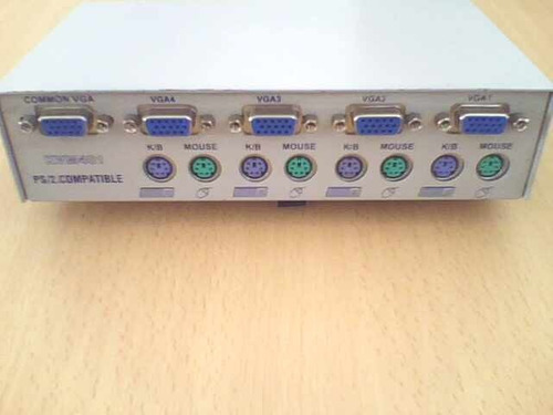 switch 4 puertos vga