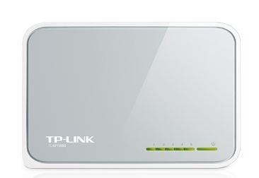 switch 5 puertos 10/100 tp-link facil instalacion