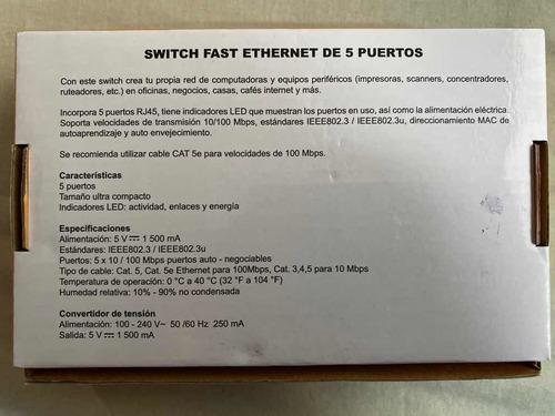 switch 5 puertos steren