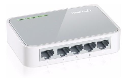 switch 5 puertos tp link tl sf1005d 10/100 mbps 5 bocas