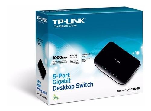switch 5p gigabit tplink tl-sg1005d