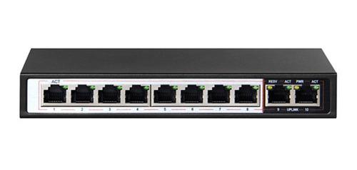 switch 8 puertos poe 10/100