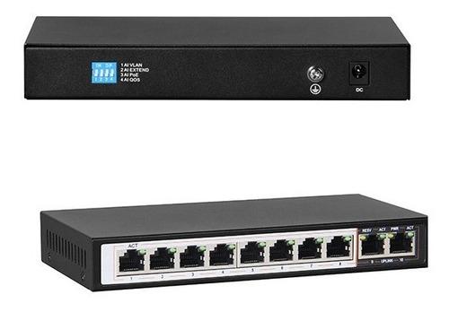 switch 8 puertos poe 10/100/1000