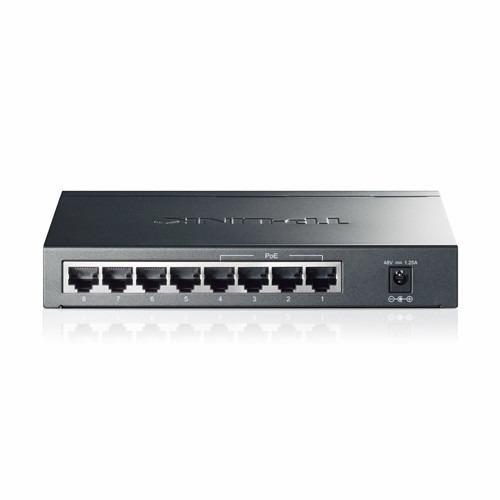 switch 8 puertos   -   poe tp-link. tl-sg1008p