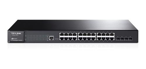 switch administrable tp link sg 3424 24 port giga rack cuota