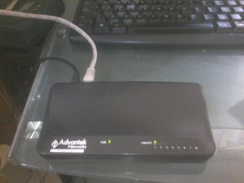switch advantek puertos