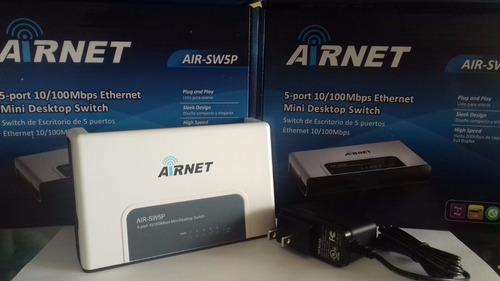 switch airnet 5 puertos