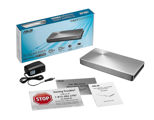 switch asus xg-u2008 unmanaged 2-port 10g and 8-port