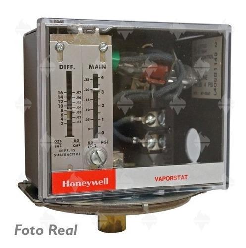 switch baja presion vapor honeywell  rango 0-4 psi l408b1149