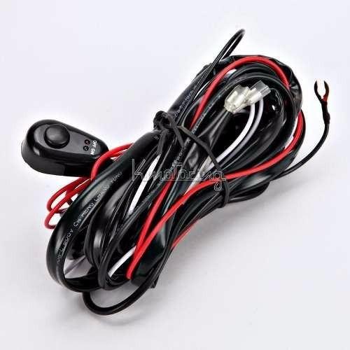 switch cable arnes para faros y barras de leds relay fusible
