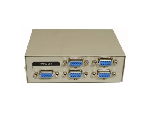 switch chaveador vga para 4 portas conector monitores tomate