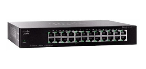 switch cisco 24 puertos sf110-24 10/100 ra 4.8 gbps  led pce