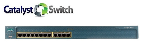 switch cisco catalyst ws-c2950-12 admin l2 12 puertos 10/100