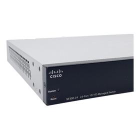 Switch Cisco Sf 300-24 Portas Srw224g4-k9  Novo