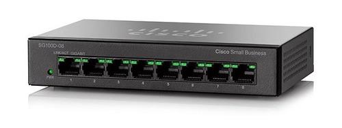 switch cisco sg100d-08-na 8 puertos gigabit