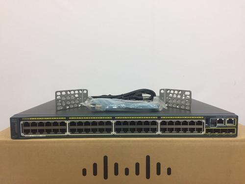 switch cisco ws-c2960s-48fps-l full poe 740 w