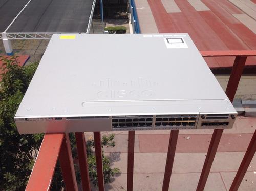 switch cisco ws-c3850-24p 24 puertos gigabit poe