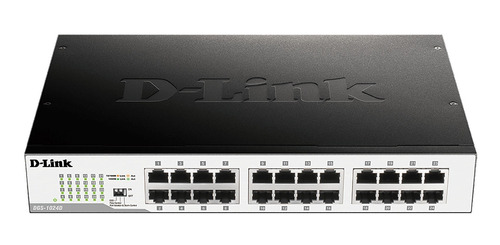 switch d-link 24p fast ethernet 10/100 no administrable