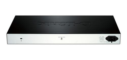 switch d-link 24puertos 10/100 poe  + 2 sfp des-1210-28p