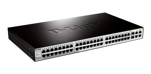 switch d-link 48 puertos 10/100  + 2 sfp des-1210-52