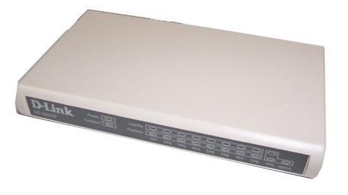 switch d-link de-809tp 8 puertos