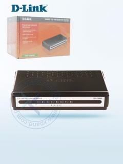switch d-link des-1008a, 8 rj-45 10/100 mbps, auto mdi/mdi-x