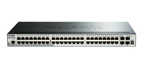 switch d-link dgs-1510-52x 48 puertos gigabit + 4 sfp smart