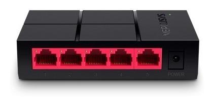switch de escritorio 5 puertos gigabit mercusys ms105g