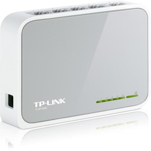 switch de escritorio de 5 puertos 10/100 tl-sf1005d tp-link