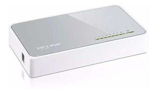 switch de escritorio de 8 puertos de 10/100mbps tl-sf1008d